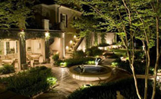 Residential and commercial landscape lighting systems are very safe when low voltage LED lights are used and Andys Sprinkler Drainage of Bee Cave Texas is your professional